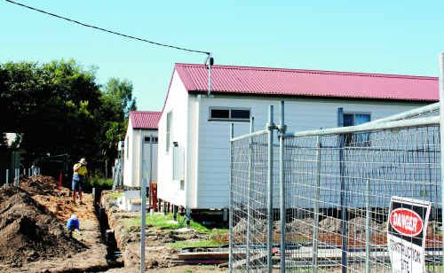 "Member for Gregory Vaughan Johnson has slammed temporary emergency accommodation provided in Emerald as ""substandard""."