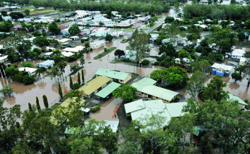 For the first time in Queensland history, an entire town was evacuated when Theodore flooded.