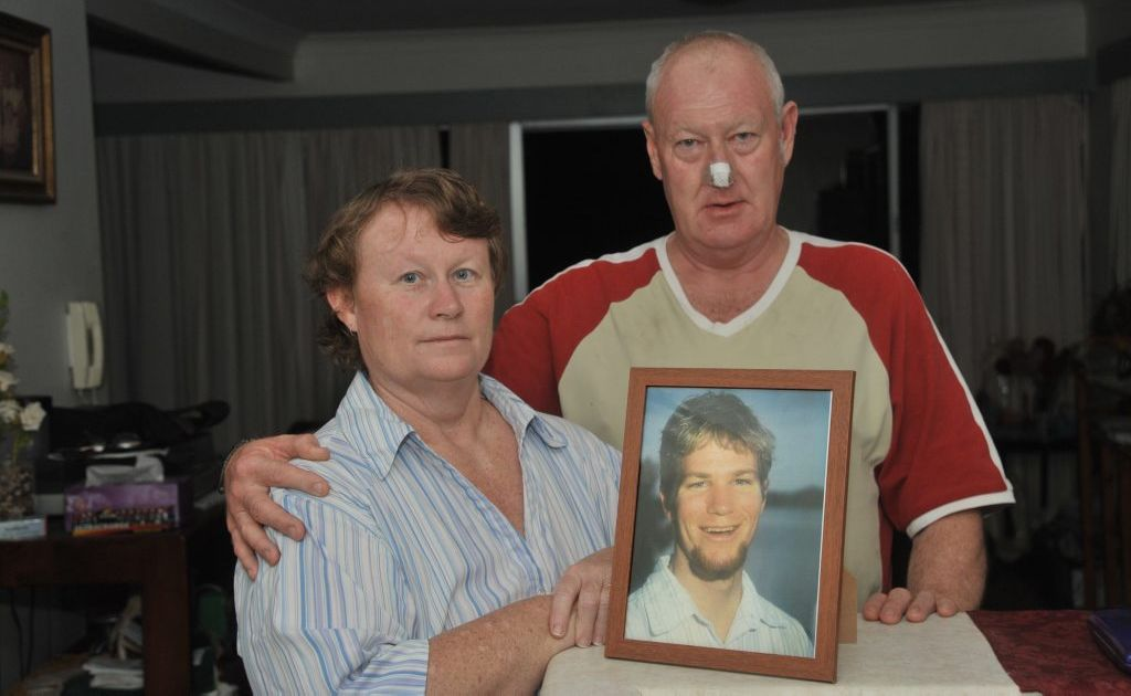 Lorraine and Michael Conolly lost their son, Jason, in a motorbike accident. He was 26.