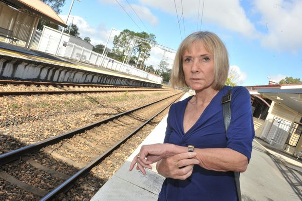 Ina Bailey finds lengthy train delays very frustrating.