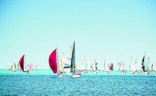 UNFURL THE SAILS: Winter is Queensland's Season of Sailing.