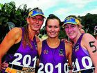 (from left) Keirra Trompf, Jenny O`'Connor and Jacqui Russell after the 2010 season.