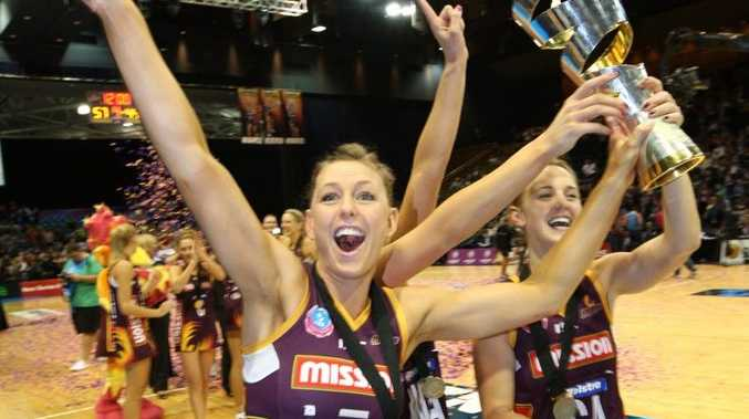 The Queensland Firebirds yesterday wrote themselves into the history books and Noosa's Keirra Trompf ensured her name would feature in the pages.