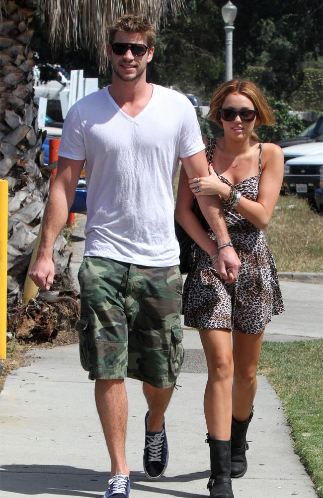 Miley Cyrus thinks boyfriend Liam Hemsworth is