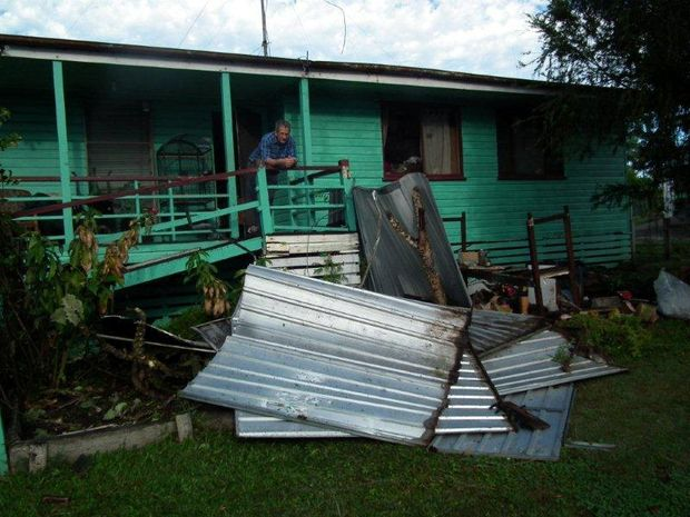 Maryborough residents are facing a big clean-up after a big storm.