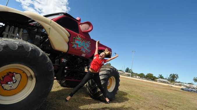 Emily Blatchford has been for a crazy, insane, petrifying, death-defying monster truck driving lesson.