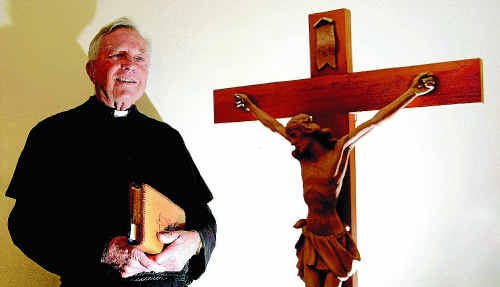 Father Reg Mills says the clergymen will become part of communities in Queensland and NSW.