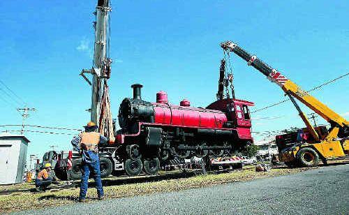 A C17 Class Steam Locomotive or