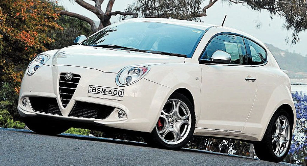 The pint-sized Alfa Romeo MiTo is available with an automatic gearbox.