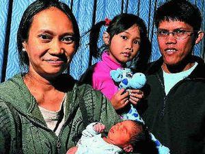 Lodge celebrates first baby birth