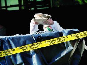 Overpass asbestos to stall upgrade