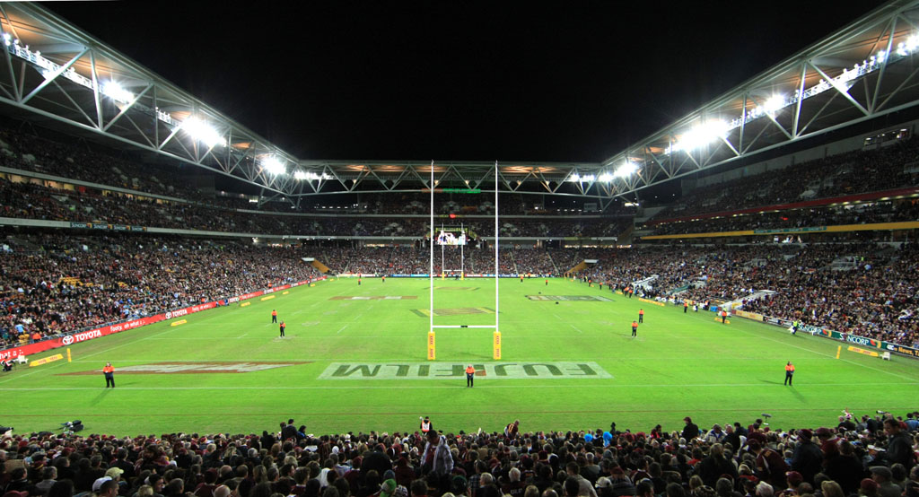 Suncorp Stadium is the perfect venue for football exhilaration.