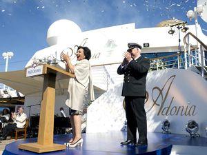 Dame Shirley names latest ship