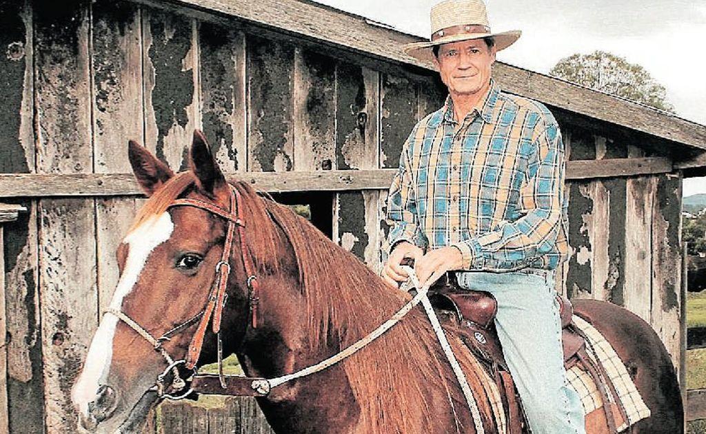 Horse whisperer Frank Bell.