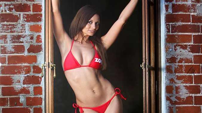 Rockhampton model Tara Jeffery hopes to win a spot in the Zoo Weekly Swimsuit Calendar.