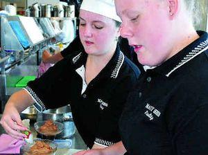 Young chefs tempt judges