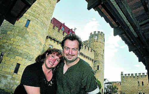 Birte Benecke-Uhrig and Stephan Uhrig have decided to put Bli Bli Castle on the market.