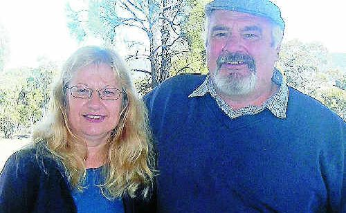 Darline and Vincent Gatti are excited to be starting a new business at Leslie Dam.