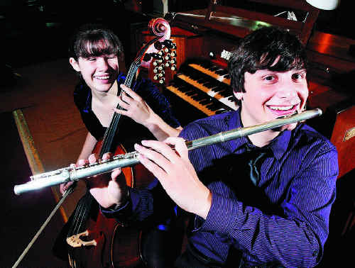 Elena Schmider and Nathan Walton will be part of the Muso Amigos twilight concert.