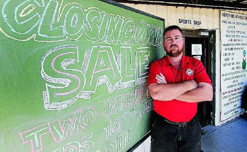 Capricorn Country Club golf pro Colin Baynton will be closing up shop in a few weeks.