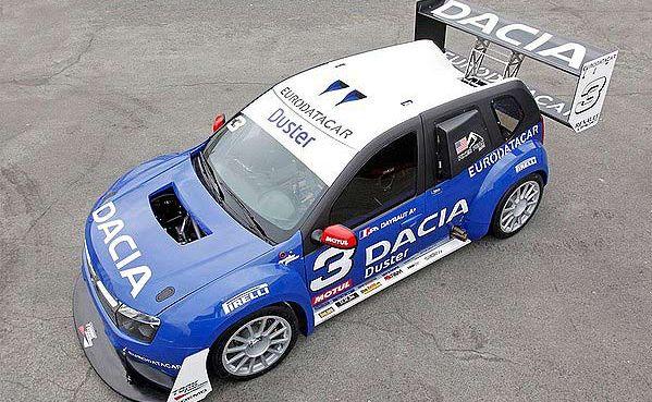 The Dacia Duster No Limit Rally Car.
