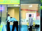 The Cash Store on Wharf street attempted hold up TWE010611cash Photo Blainey Woodham / Tweed Daily News