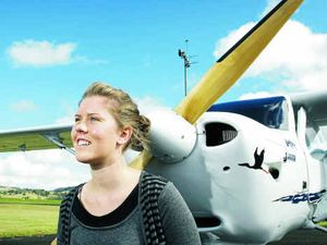 Sophie's flying career takes off