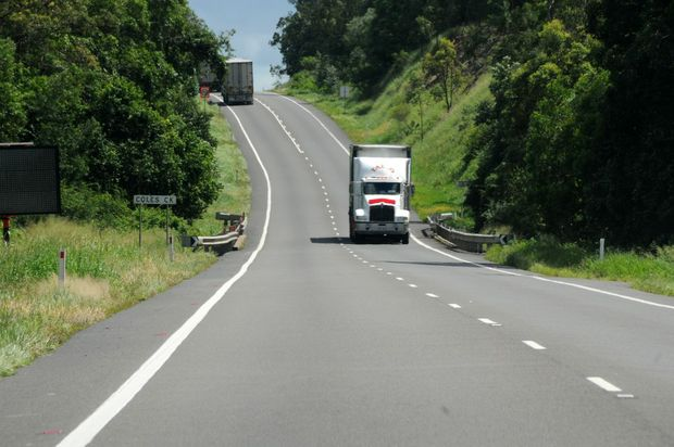 The section of the Bruce Highway between Cooroy and Gin Gin is the worst stretch of road in Queensland, according to the latest RACQ Unroadworthy Roads Survey.