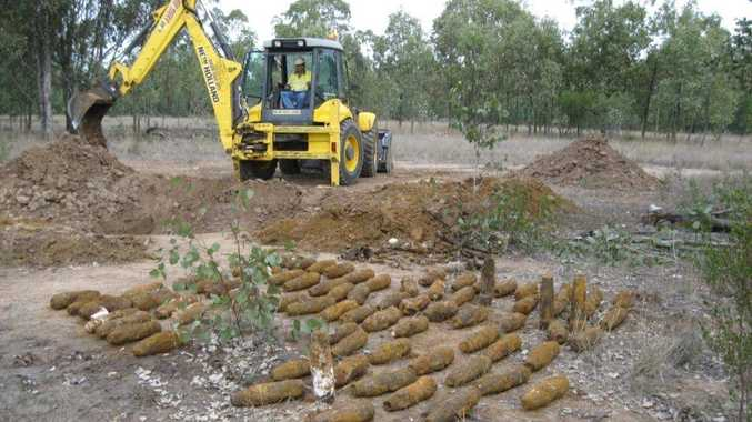 Department of Defence has destroyed 144 mustard gas shells uncovered at Columboola, between Chinchilla and Miles.