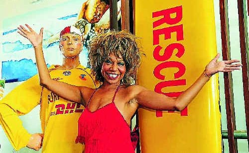 Rebecca O`Connor wowed the crowd as Tina Turner at Noosa Heads SLSC.