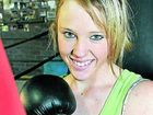 Teenager Anne-Marie Kelly has shed 30 kilograms by training hard in the boxing ring.