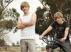 Chris Lilley as Daniel and Nathan in Angry Boys.