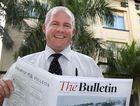 Morning Bulletin editor Frazer Pearce
