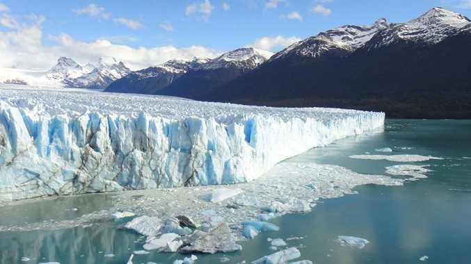 Glacier Perito Moreno in Patagonia.