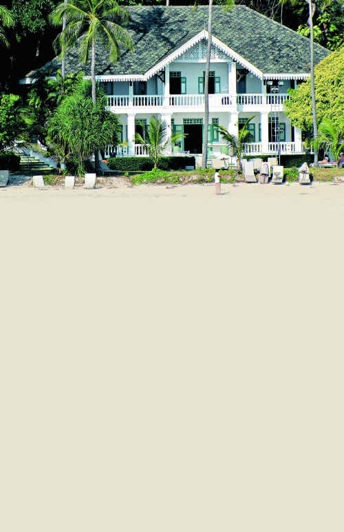 Panwa House is a beautifully restored former coconut plantation owner's home in the grounds of Cape Panwa Hotel and Spa.