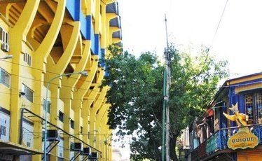La Bombonera stadium – home of Boca Juniors.