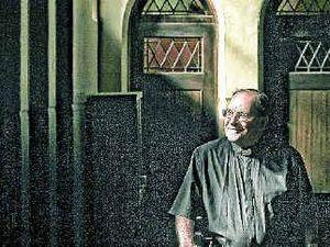 Father Peter returns to his parish