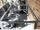 A glass table top spontaneously exploded at a Hervey Bay home last week.