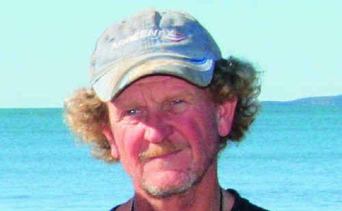 Fisherman Andrew Goldfinch.