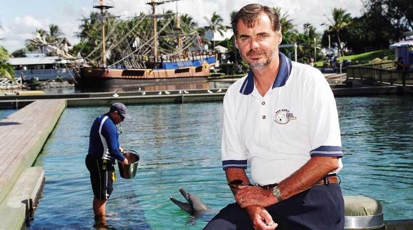 Sea World's director of marine sciences, Trevor Long.