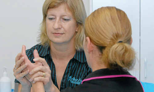 Therapist and physiotherapist Suna van Staden is curing hand problems with her new practice About Handz at Gasworks complex.