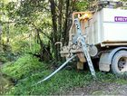 A West Cooroy resident is questioning Sunshine Coast Council water trucks practice by claiming they are are creating environmental damage by syphoning from Blackfellow Creek beside Jorgensen Rd.