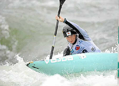 A file photo of Kate Lawrence in action during the national titles earlier this year.