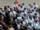 Farewell to slain officer 'Damo'