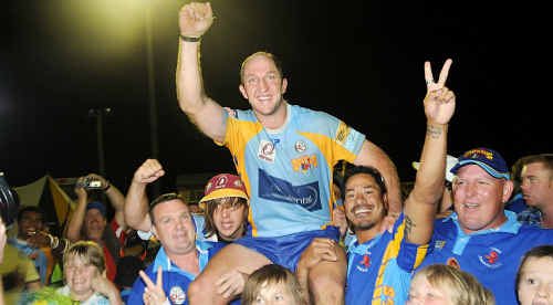 Devils' Mal Meninga Medallist Darren Burns has come back from retirement.