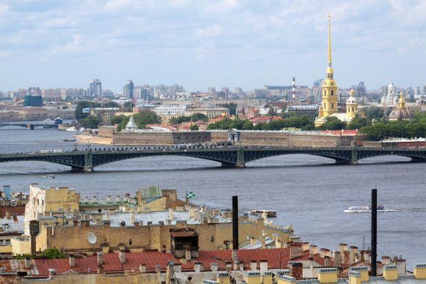 St Petersburg, where Emirates will fly to from 1st November.