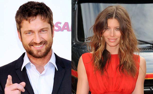 Is Gerard Butler dating Jessica Biel?