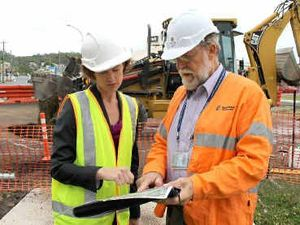 Bruce Hwy upgrade inspected
