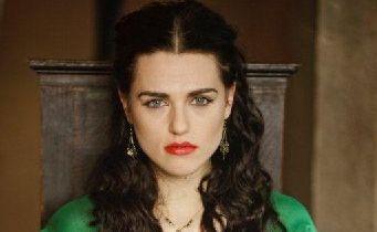 Katie McGrath plays Morgana in Merlin.