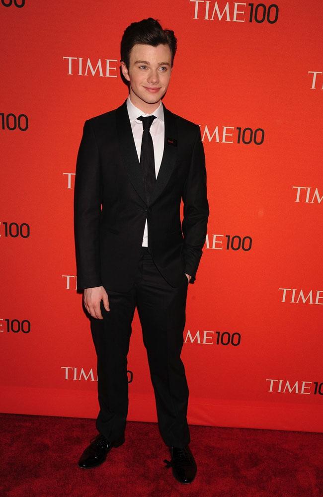 Glee star Chris Colfer